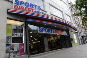 Sports Direct issued a profit warning last week