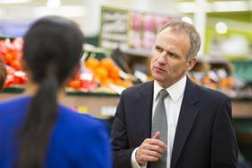 "Tesco boss Dave Lewis insisted the grocer has ""drawn a line under the past"" but admitted more work is needed to repair supplier relationships."