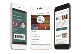 Body Shop mobile loyalty app