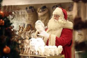 Sales are expected to hit £4.2bn at Christmas