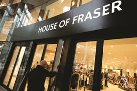 House of Fraser is hoping customers use its mobile app to buy Black Friday purchases