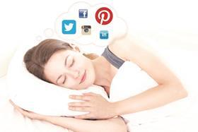 Maplin's Social Sleeper 1.0 keeps users up to date on important news and tweets while they sleep.
