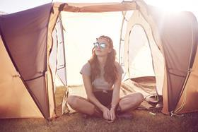 Sales of premium tents have boosted the retailer