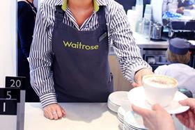 Waitrose free coffee