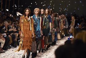 Burberry is to ditch its traditional seasonal catwalk collection and from September will show clothes available to buy immediately.