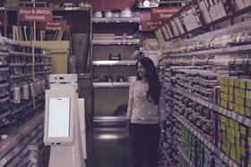 Lowe's robot shop assistant