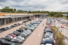 Available square footage in retail parks fell to just 5.9% during 2015, the lowest level since 2002, according to a new report unveiled today.