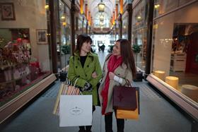 Chinese spend in the UK has increased