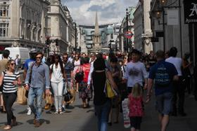 UK consumer confidence has fallen into negative territory for the first time since last January as Brexit uncertainty takes hold