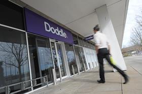 Doddle's trial site at Milton Keynes railway station