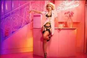 Paloma Faith shot by Alice Hawkins in the Agent Provocateur Knickers Forever autumn 15 campaign