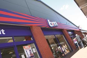 Value retailer B&M has reported a slide in third quarter UK like-for-likes after weather and supply chain disruption hit sales.