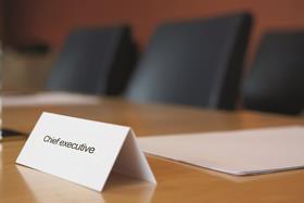 Boardroom chief exec
