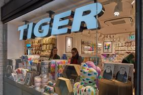 Tiger's first underground store at St James's Park underground station
