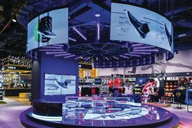 Sun & Sand Sports' central area features an impressive array of digital displays