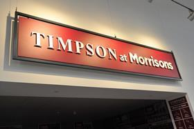 Morrisons has struck a deal with shoe repairs specialist Timpson as the grocer accelerates its drive to make better use of store space.