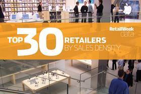 Top 30 bricks-and-mortar retailers