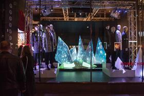 Topman's Christmas window display