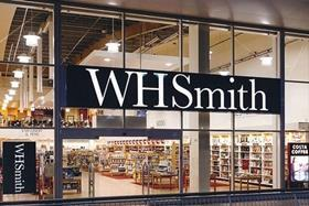 WHSmith posted a rise in first-half profits