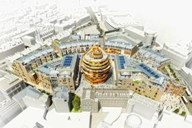 John Lewis has agreed to anchor the 1.7m sq ft Edinburgh St James development after settling a disagreement with the city's council.