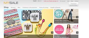 """MySale said it will be """"very dominant"""" in the UK, where it launched in July, due its """"very aggressive"""" pricing and the vast array of brands on its site."""