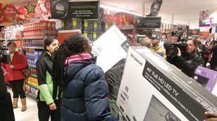 Asda Black Friday shoppers