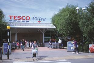 Tesco Extra Watford has devoted floor space to concessions Harris + Hoole and Euphorium Bakery