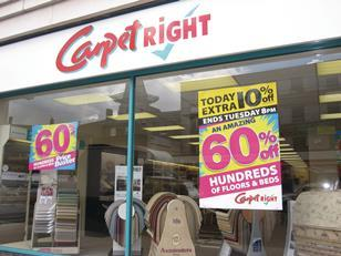Carpetright third quarter trading improved