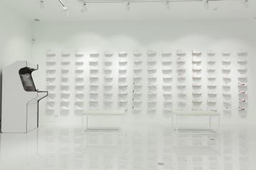 Dubbed Sneakerhead White, the store sells only white-coloured trainers