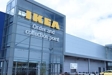 Ikea Order and Collection Aberdeen fascia