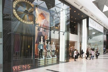 The fashion chain has grown its menswear arm in the past quarter