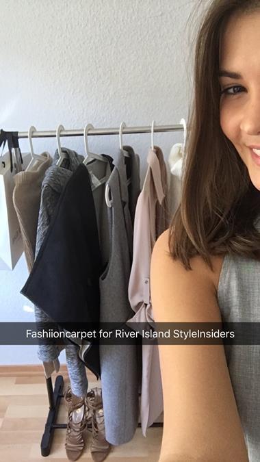 River Island Snapchat