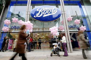 Eligible Boots non-store staff will be offered redundancy