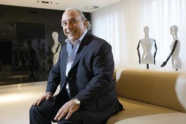 Arcadia owner Sir Philip Green hopes to rescue the Australian Topshop business