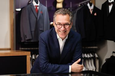 Moss Bros chief executive Brian Brick said the business has traded well despite tough conditions