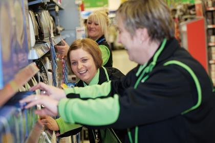 Asda store staff