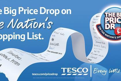 Tesco - The Big Price Drop