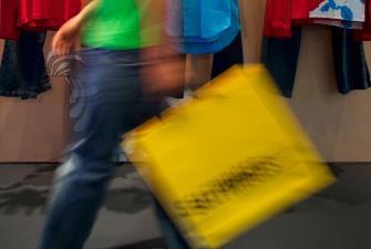 Male shopper