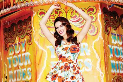 Kelly Brook designs a range for New Look