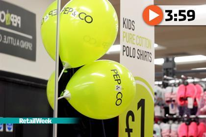 Watch: Poundland exec on pricing, Pep & Co and Tesco | Retail Week