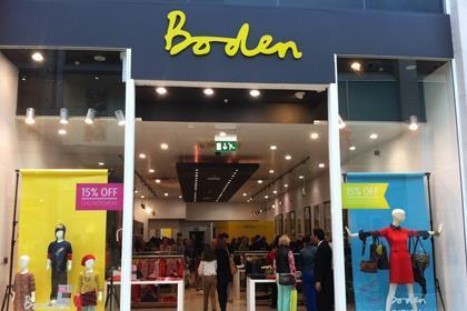 Boden Bullring pop-up shop