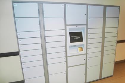 Amazon order collection lockers