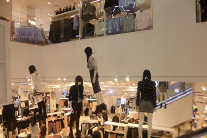 H&M's flagship store on New York's Times Square