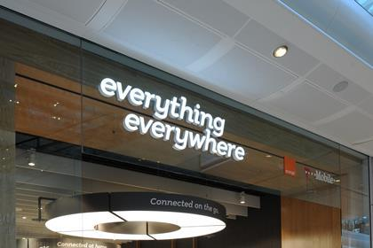 Everything Everywhere new store model, Westfield, London